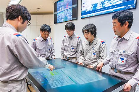 東京ガス株式会社扇島LNG基地