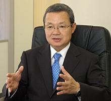 川商フーズ常務取締役の原信之介氏 (2010年6月当時)