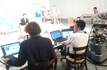 新卒採用情報サイト「新卒のかんづめ」内のLive企業研究会の様子