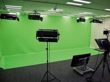 スタジオ オクトの内観