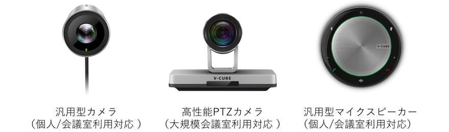 「V-CUBE デバイス」製品画像
