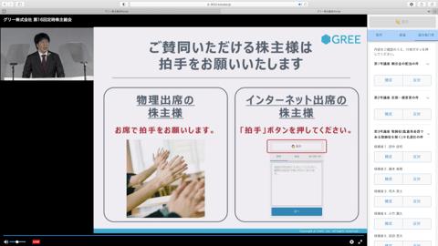 インターネット参加時の画面イメージ