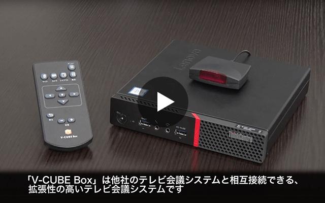 V-CUBE Box 他社のテレビ会議システムと接続