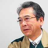 常務執行役員 プロセス管理本部長 澤 一男 氏