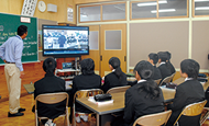 学校教育におけるICTを活用した実証事業にV-CUBEを採用人口減少社会における教育の質の維持向上に効果を実感。