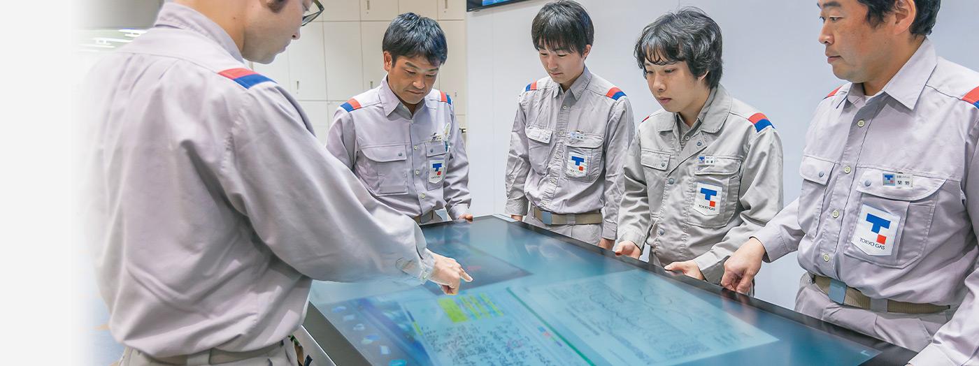 東京ガス株式会社 扇島LNG基地 様