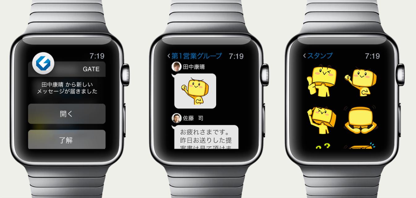 Apple Watchの画面イメージ