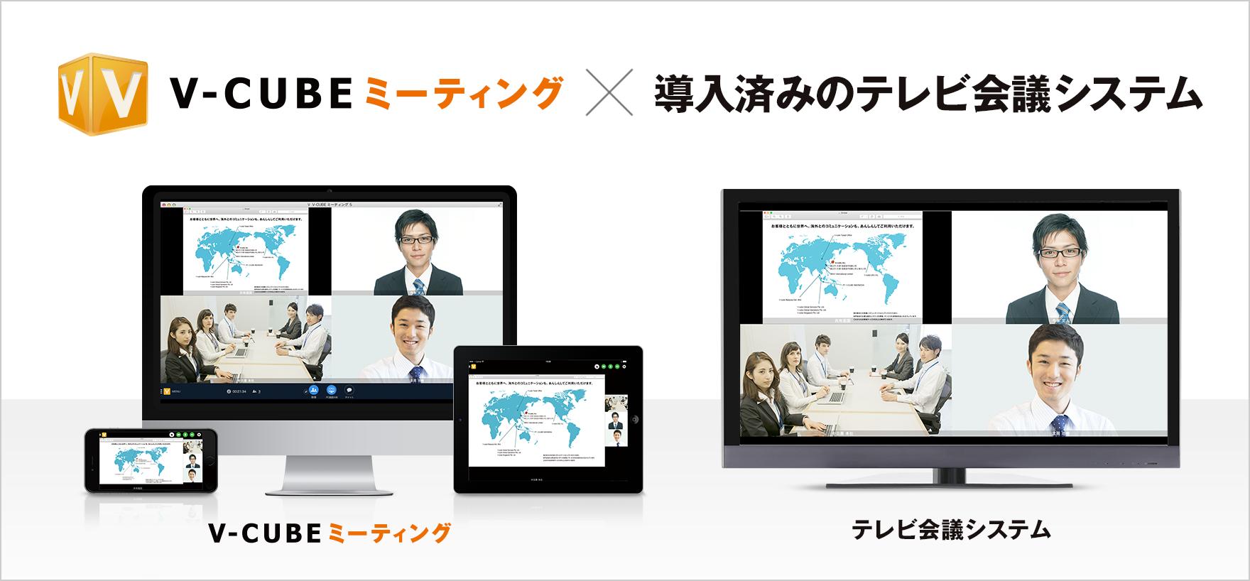 Web会議×テレビ会議の連携