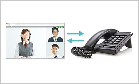 電話会議システムとの接続