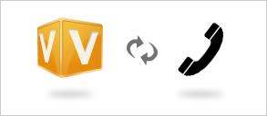 V-CUBE ミーティングとシームレスに連携することで、環境を問わず安定した音声コミュニケーションによるWeb会議が実現します。