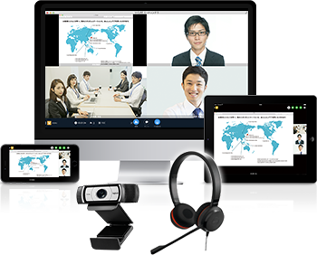 Web会議・カメラマイクのイメージ