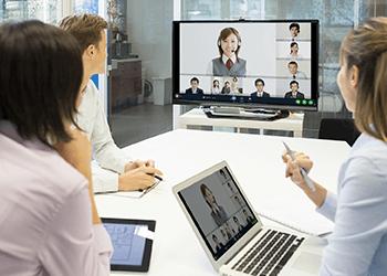 Web会議のメリットイメージ