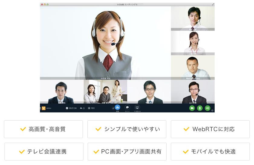 V-CUBEミーティング 5 基本画面構成
