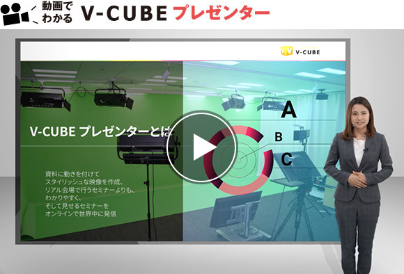 動画でわかるV-CUBE プレゼンター