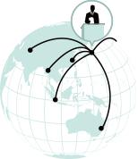 日本全国、国外といった広いエリアに情報を届けることができる