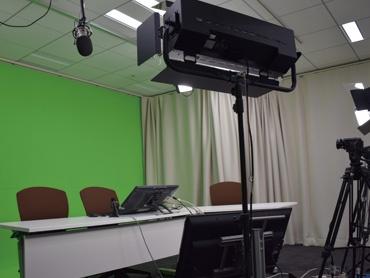 配信サポートや専用スタジオ