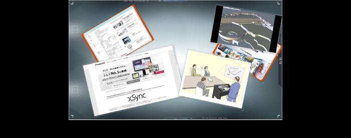 高性能グラフィック処理・マルチタッチ操作により複数カードのスムーズな同時操作が可能