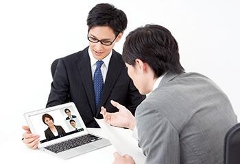 Web会議を活用し、スペシャリストが遠隔からサポート