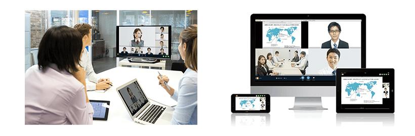 高品質のクラウド型Web会議サービス「V-CUBEミーティング」