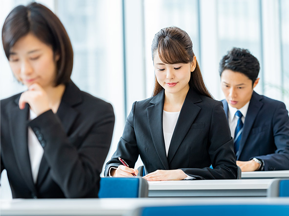 社内研修を効率化