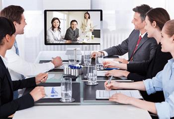 1/3のコストで導入できるテレビ会議