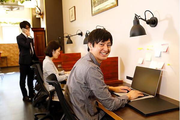 サテライトオフィス勤務のイメージ